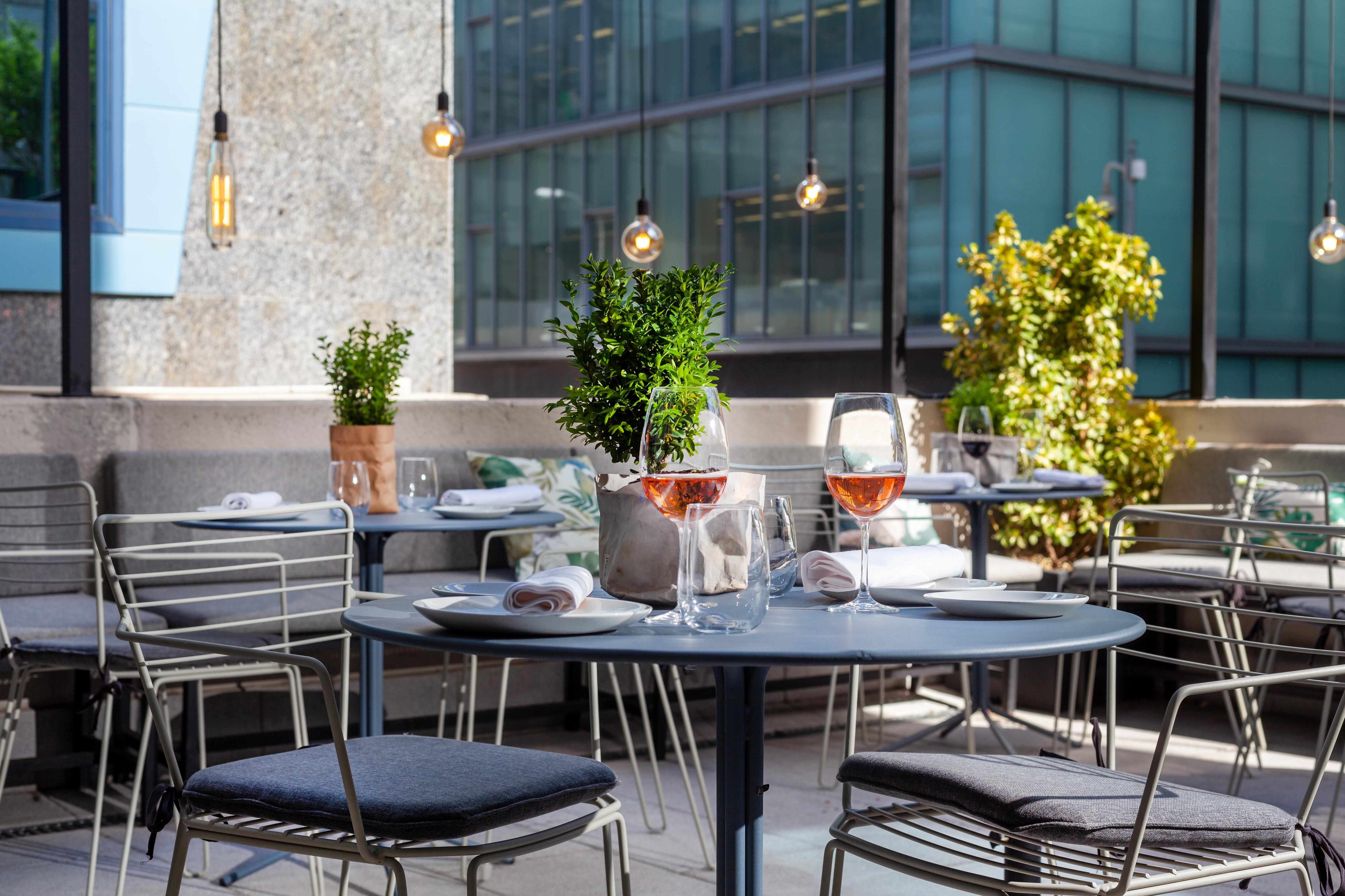 Restaurante Popa terraza - Restaurante Chamartin