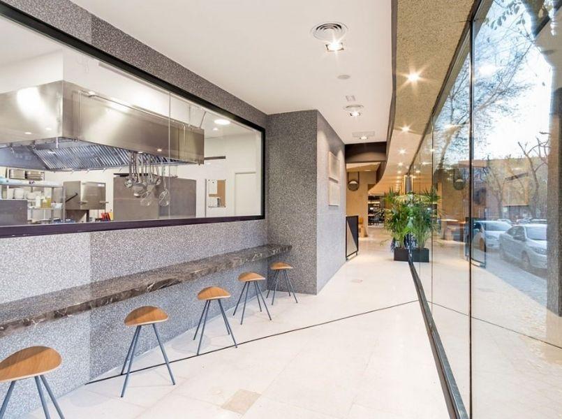 restaurante cocina abierta Madrid - Restaurante Cocina Moderna - Restaurante Popa